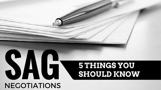 The New SAG Contract: 5 Things You Should Know